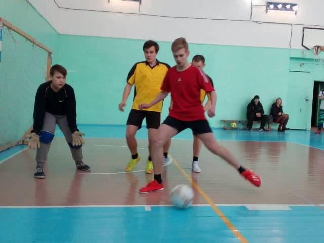 Соревнования по футзалу