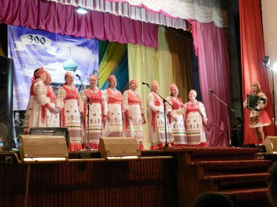 Участвовали в конкурсе хоров