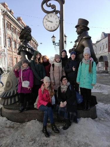 В театре юного зрителя Театр на Спасской