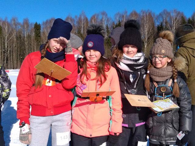 С 1 по 3 марта в г. Кирове прошло XXVI первенство области по спортивному ориентированию на лыжах.