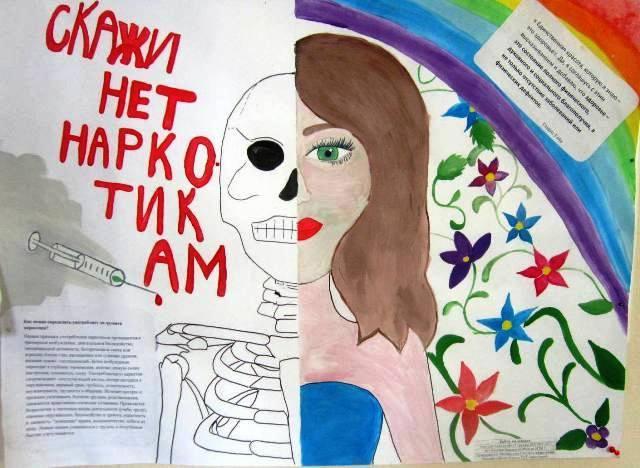 Рисунок учеников 9 «Б» класса средней школы пгт. Опарино