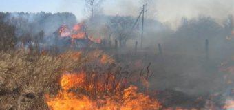 Пожар в поселке Чурсья
