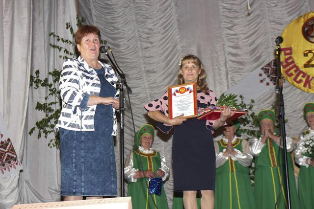 Юбилей ансамбля ветеранов «Русская песня»