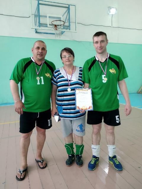 1 место волейбол