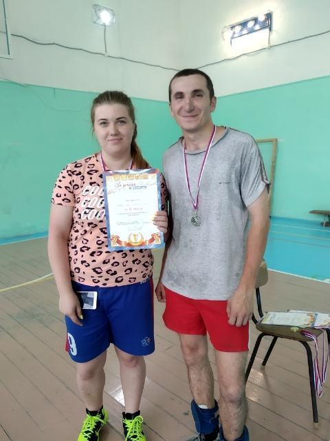 2 место волейбол