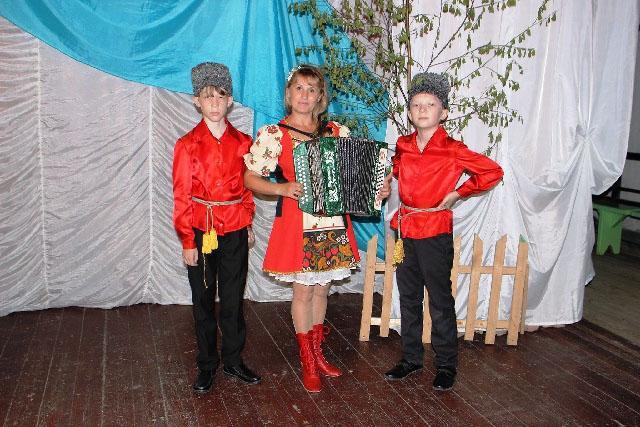 С музыкальным руководителем Оксаной Трубиной
