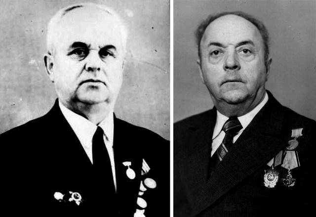 На снимке: Заслуженные работники культуры Даровского района А.И.Пивоваров (слева) и Е.И.Береснев.