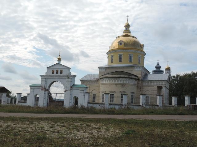 На пленэре в Великорецком