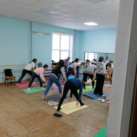 мастер класс по йоге
