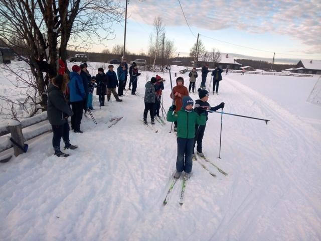 Новогодние соревнования по лыжным гонкам
