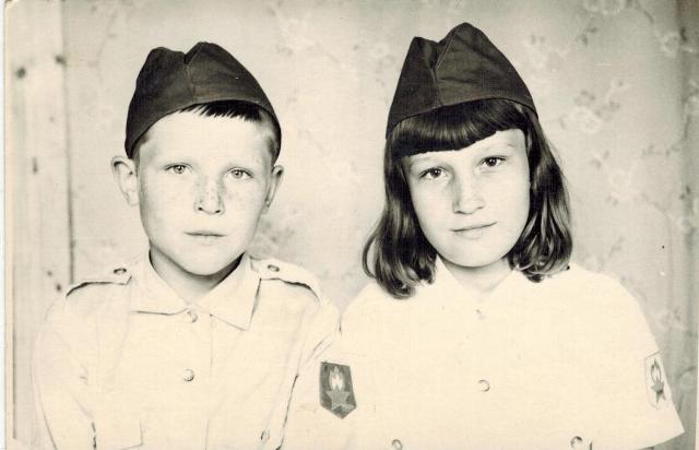 Дети Николай и Надя