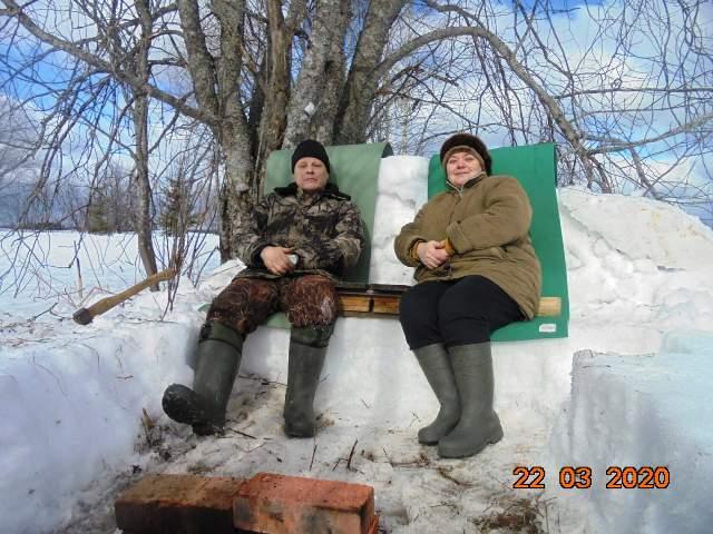 Супруги Сергей Викентьевич и Ольга Ильинична Пономаревы