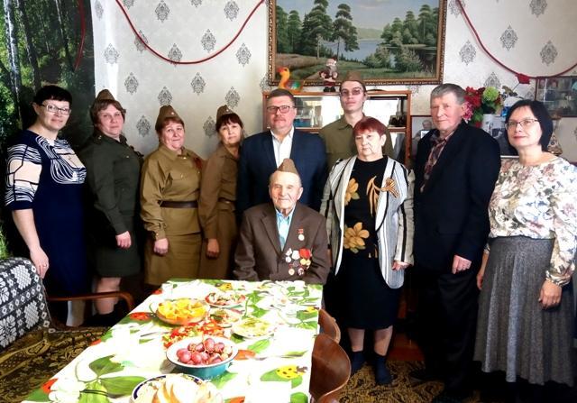 Вручение медали Андрею Михайловичу Филиппович