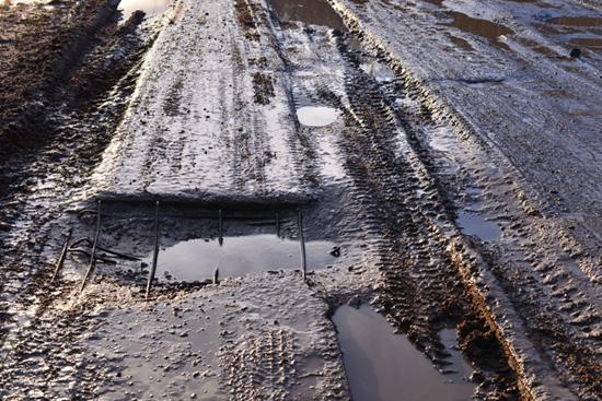 О состоянии дороги Опарино – Маромица