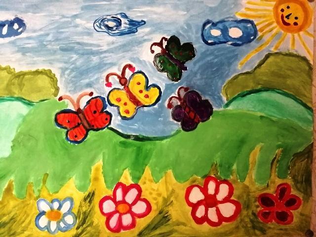 Я рисую Вятку, Билоус Мария, п.Речной, Опаринского района Здравствуй Лето!