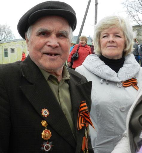 День Победы в Опарино год 2012