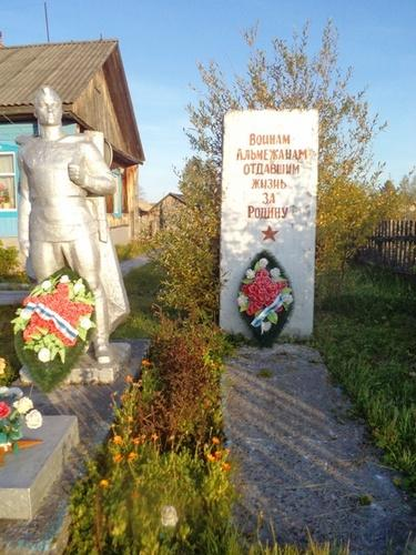 Фото – памятник альмежанам