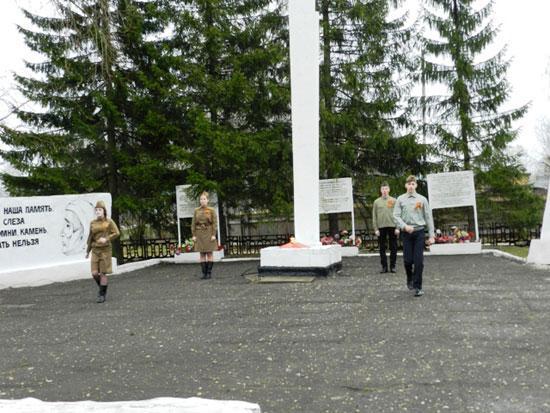 День Победы в Опарино год 2014