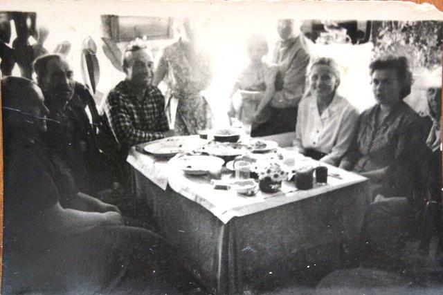Встреча семьи Поповых