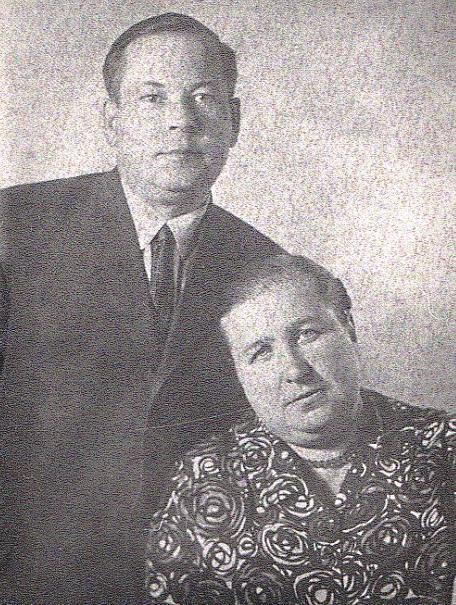 Фото Надежды с супругом Павлом Ивановичем Кабановым.