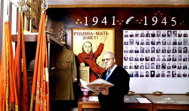 Николай Шкаредный в музее