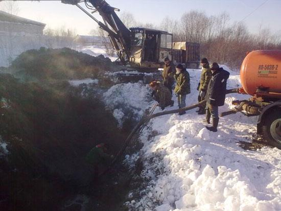 Фото аварии зимней