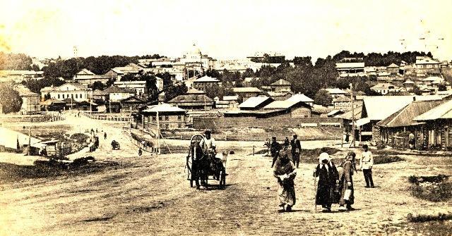 На снимке: вид на город Вятку из села Хлыновского.