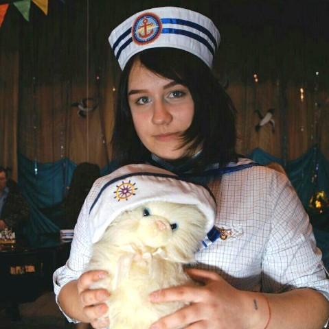Дарья Сорокина из поселка Опарино