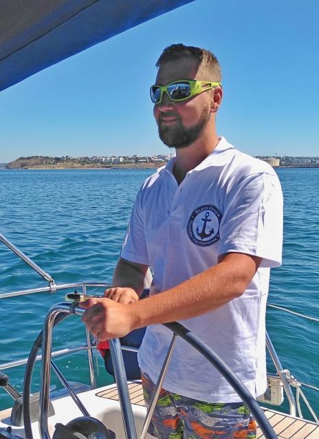 яхтенный шкипер Илья Сабанцев