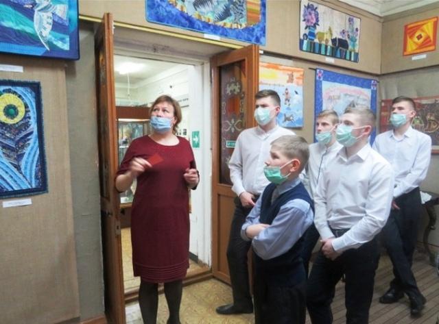 Выставка Елены Шиховой в Орловском музее