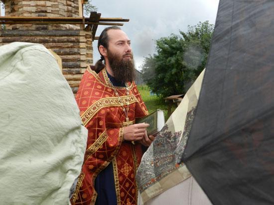Хроника возведения часовни в Шабурах