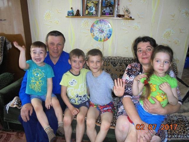 Рецепт счастья семьи Пономаревых