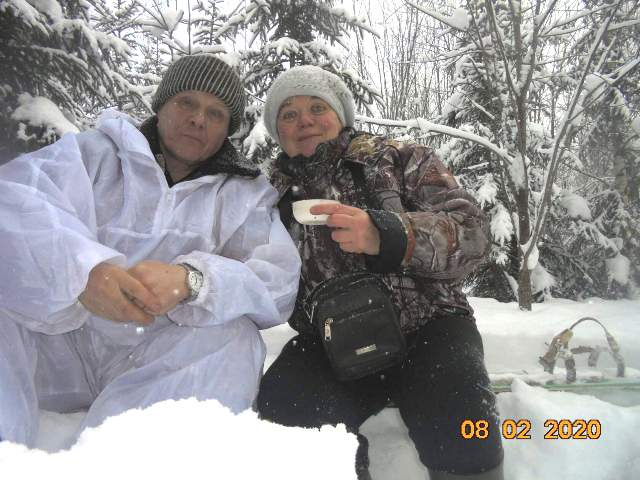 Ольга и Сергей Пономаревы из Опарино