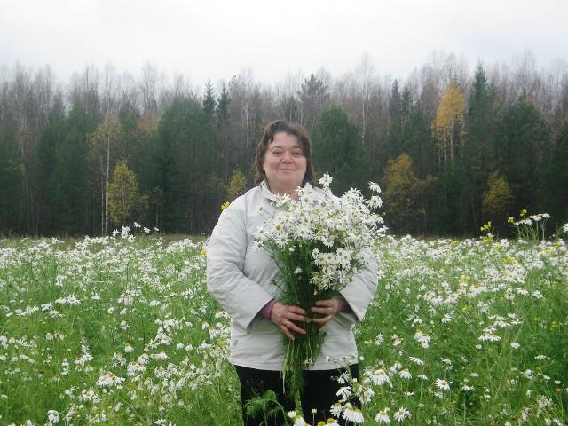 Ольга Пономарева из Опарино