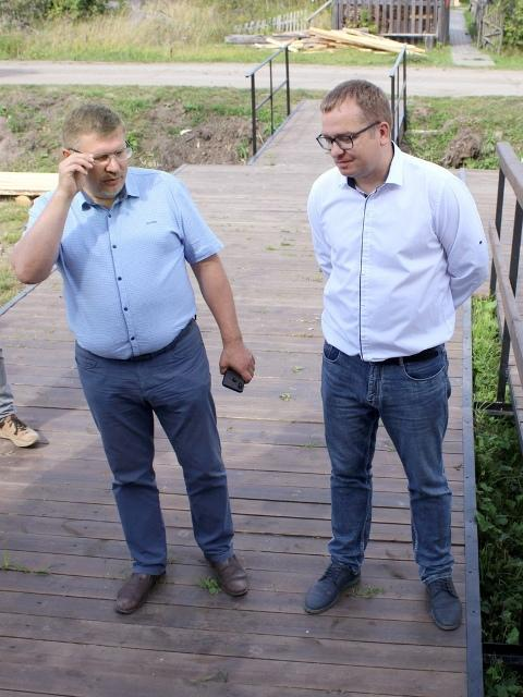 Михаил Каргопольцев и Андрей Макаров