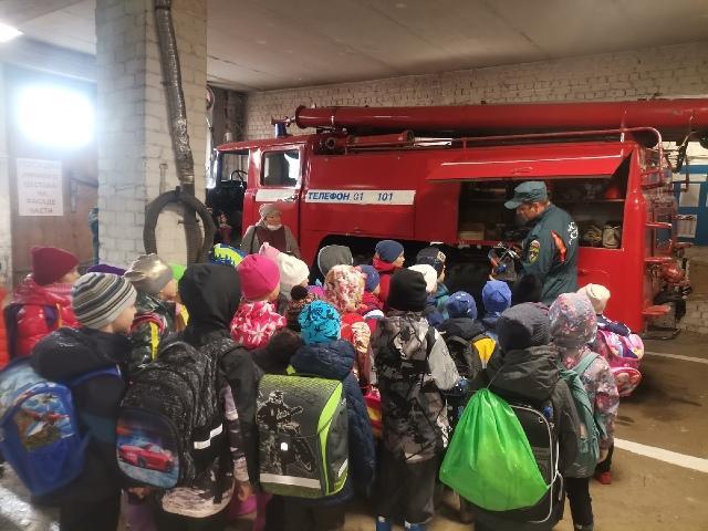 День открытых дверей в пожарной части